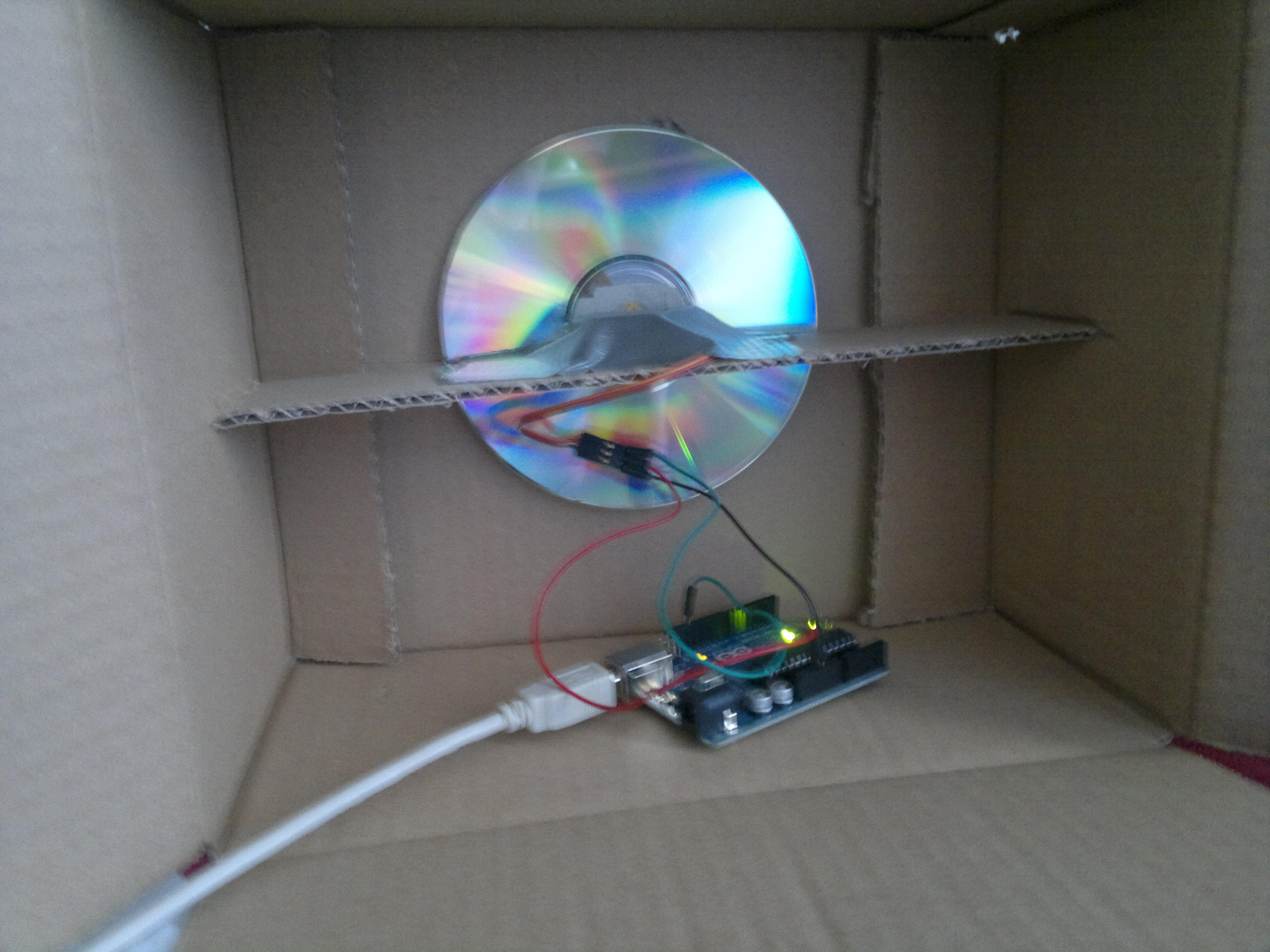 Arduino wireless thermometer using RFM01/RFM02